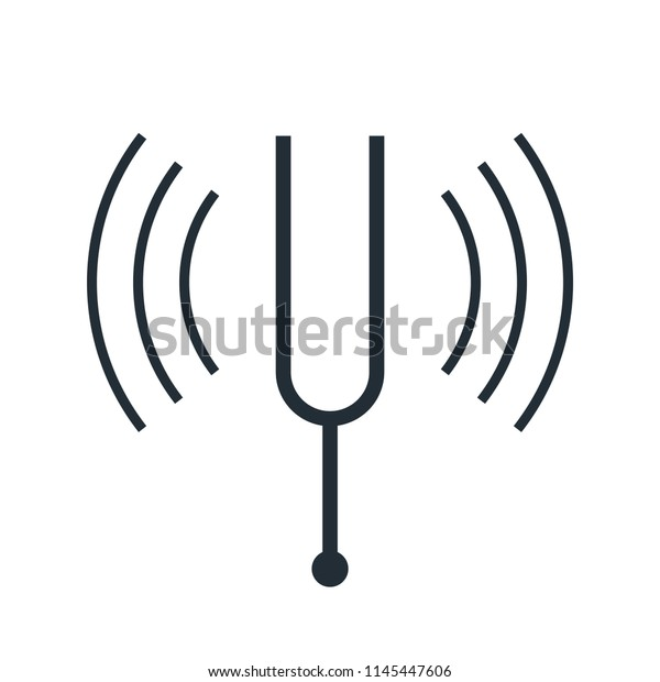Tuning Fork Resonance Clipart (#5592020) - PinClipart
