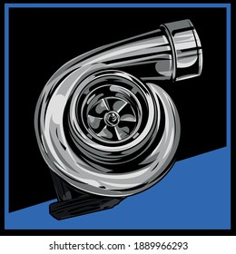 turbo illustration eps10 logo design vector