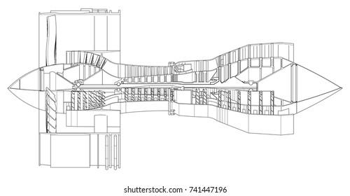 Jet Engines Stock Illustrations, Images & Vectors | Shutterstock