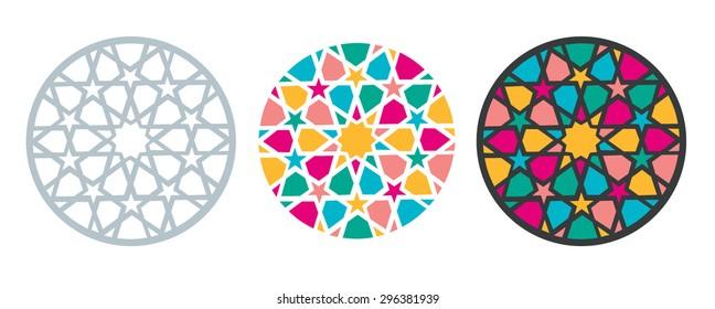 Turk Seljuk architectural decorative element