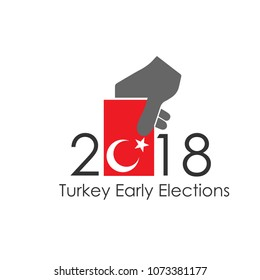 Turkey 2018 presidential election vector work(Turkish 2018 Turkiye Baskanlik Secimleri vektor calismasi)