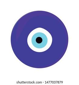 Turkey. Evil eye amulet vector art