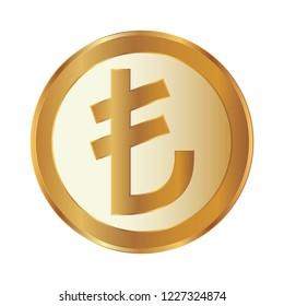 Turkish Lira Coin