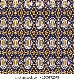 Turkish ornament. Moroccan tile mosaic. Spanish porcelain. Ceramic tableware, folk print. Asian pottery. Ethnic background. Mediterranean wallpaper. Art Deco.