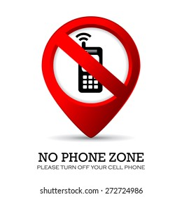 Turn off phone sign