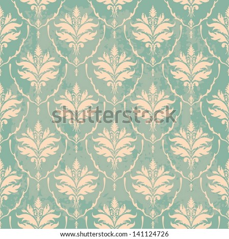 turquoise vintage wallpaper with texture