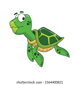 turtle  clip art vector illustration