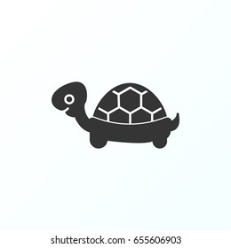 Turtle icon illustration isolated vector sign symbol