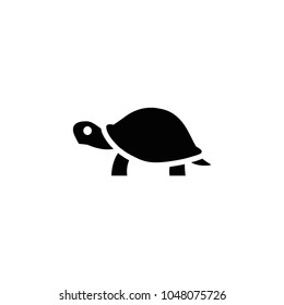 Turtle icon. Vector turtle illustration