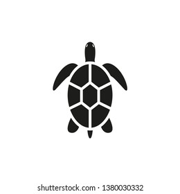 Turtle icons. Simple vector illustration.