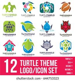 Turtle logo / icon Bundle