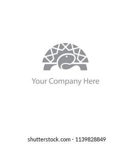 Turtle logo vector