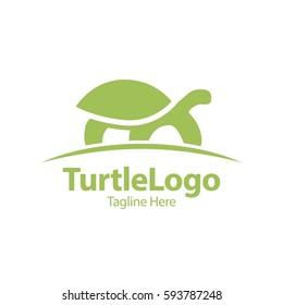 Turtle, Tortoise, Element concept logo