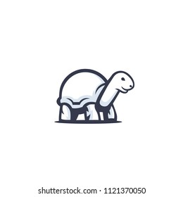 turtle vector logo design