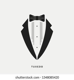 Tuxedo icon. Vector illustration, EPS 10