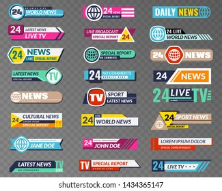 Broadcast Banners Images, Stock Photos & Vectors | Shutterstock