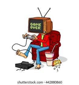 tv game head