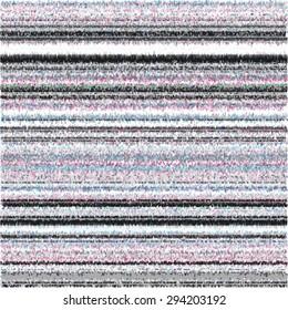 TV Glitch vector background