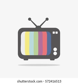 TV icon for web