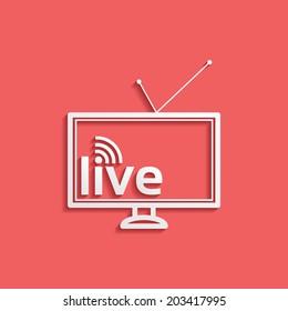 Live Tv Images, Stock Photos & Vectors | Shutterstock