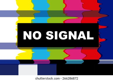 tv no signal design,vector illustration eps10 graphic