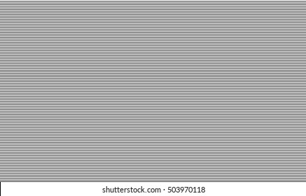 TV screen texture Seamless pattern with lines Vector background