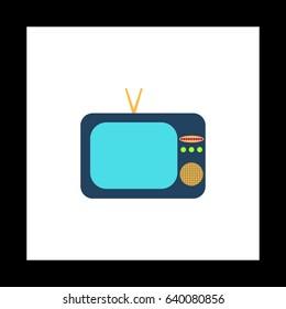 flat screen tv clipart images stock photos vectors shutterstock rh shutterstock com