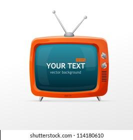 Tv vector blank