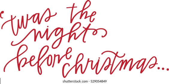 photograph regarding Twas the Night Before Christmas Poem Printable referred to as The Night time In advance of Xmas Visuals, Inventory Pictures Vectors