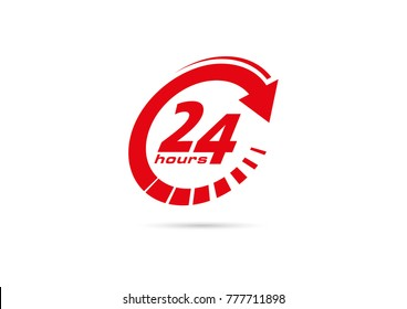twenty four hour pictogram