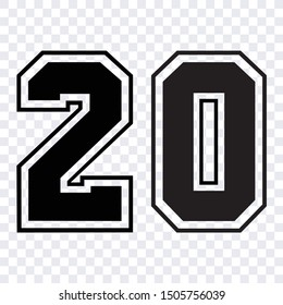 Jersey Number Images, Stock Photos