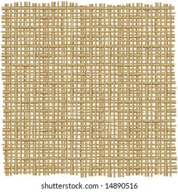 Twig, rush, rattan, reed, cane, wicker or straw mat background of natural color ( for high res JPEG or TIFF see image 14889274 )