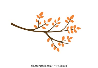 twig vector. Autumn vector. leaves vector