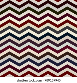 The twin dark and white zigzag stripes floor. (Retro optical background).