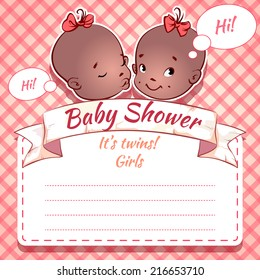 Twins Baby Shower - girls