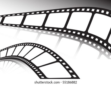 Twisted film strip set