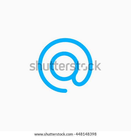 Twitter Logo Connect Icons Tweet Tag Sign Twiter Vector Tweeting Element