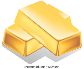 Two bar gold