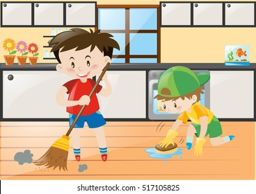 Cleaning Clipart Stock Illustrations Images Vectors Shutterstock