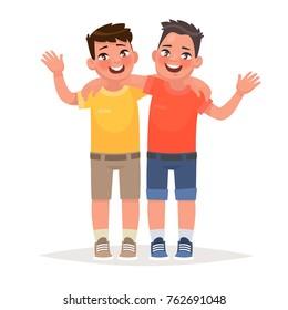 Best Friends Cartoon Images Stock Photos Vectors Shutterstock