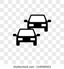 Cars On Line >> Two Cars In Line Icon Gorseller Stok Fotograflar Ve Vektorler