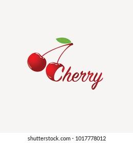 Two cherries logo.