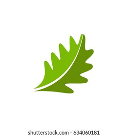 Two color oak leaf