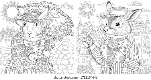 Coloring Book Pages House HD Stock Images Shutterstock