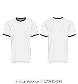 T Shirt Template Hd Stock Images Shutterstock