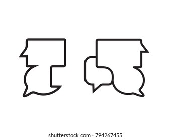 Two Communication Icons