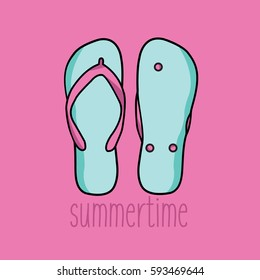 29feaea7d26c two creative flip-flops. one flip flop upside down clean modern and  upturned and