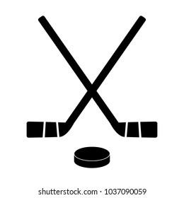 Ice Hockey Clipart Black And White