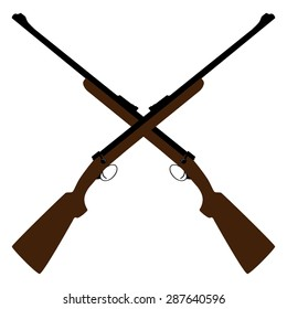 Crossed Guns Images, Stock Photos & Vectors | Shutterstock