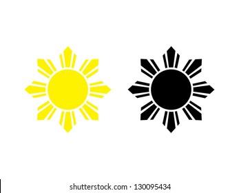 Two Filipino Sun Marks.